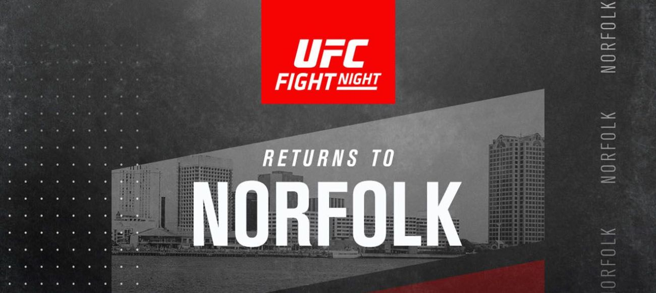 Ufc Fight Night Returns To Norfolk Chartway Arena
