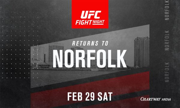 More Info for UFC Fight Night Returns to Norfolk