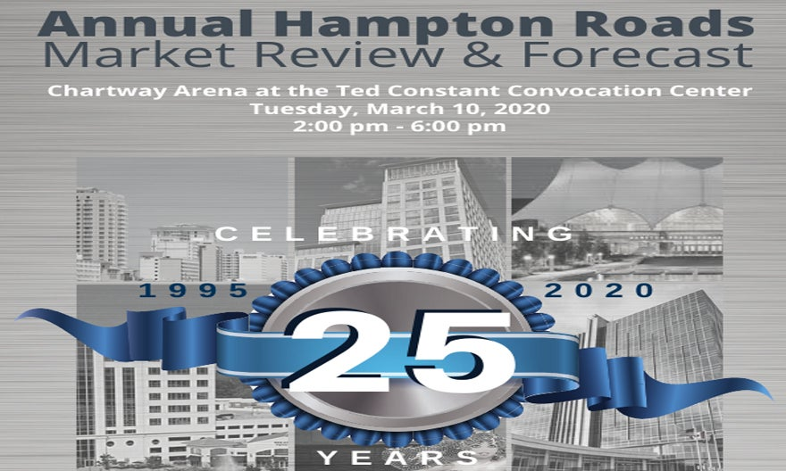 More Info for 25th Annual Hampton Roads Real Estate Market Review & Forecast
