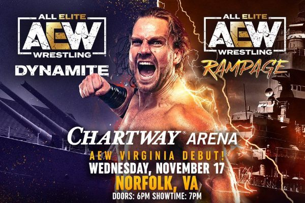 More Info for All Elite Wrestling (AEW) Makes Virginia Debut At Chartway Arena