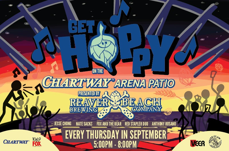 More Info for Get Hoppy Happy Hour Presented by Reaver Beach Brewing Co.